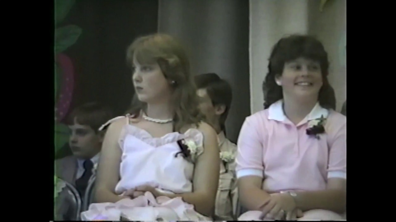 CES 6th Grade Graduation  6-18-87