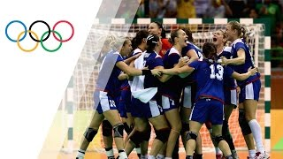 Russia win first Handball gold medal