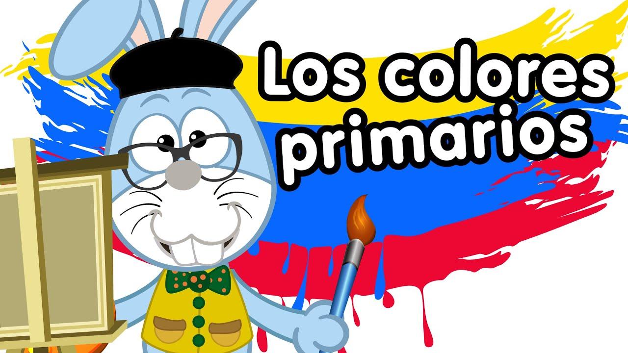 Los colores rojo, amarillo y azul canciones infantiles - YouTube