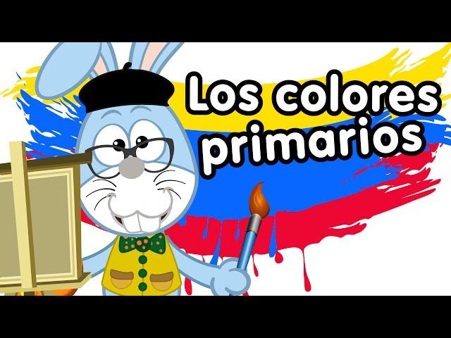Los colores rojo, amarillo y azul canciones infantiles