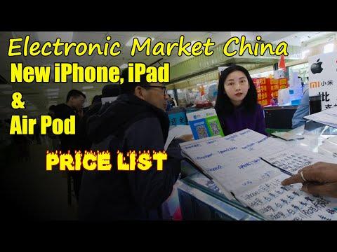 new-iphone-ipad-ipod-price-list-in-china- -electronic-market- -shenzhen- -china- -english-subs