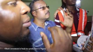 OLAM'S INVESTMENTS IN LOCAL RICE PRODUCTION IN NIGERIA 2