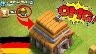 DEUTSCHES RATHAUS 5 IN TITAN! 🙏😱 Clash of Clans * CoC
