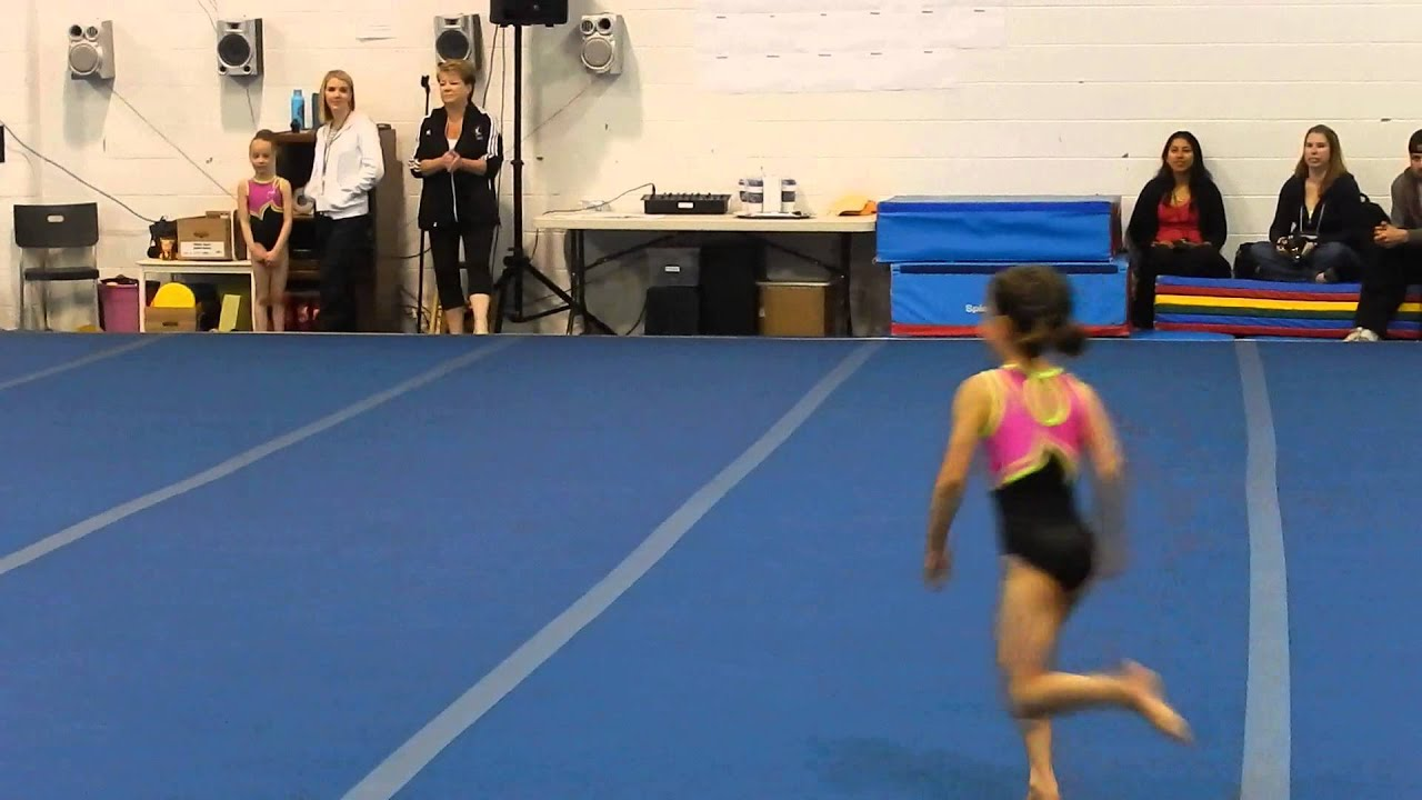 7 year old gymnast floor routine pre-comp 2013