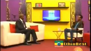 Former Ethiopia coach Sewnet Bishaw with Jossy Video by Jossy In Z House Show