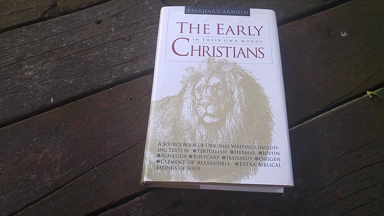 The Early Christians in Their Own Words - YouTube
