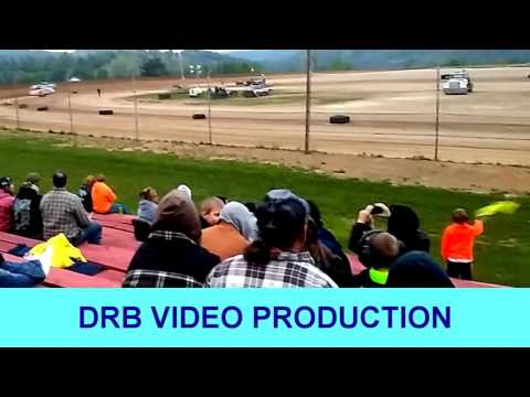 Marion Center Speedway 5 20 17 Super Late Model Heat 1 Of 2