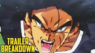 DRAGON BALL SUPER: BROLY - Movie Trailer Breakdown