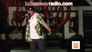 DARQ RAW Performing Live @ Philly Hood Stock 9/29/12 Presented By In Da Streets Radio