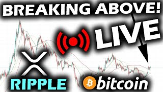 LIVE REVIEW of the RIPPLE XRP PRICE CHART and the ALTCOIN MARKET as Signs Point to BREAKING BULL