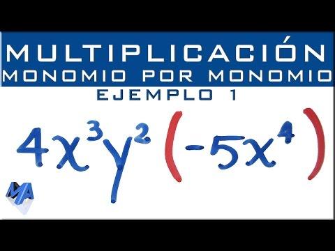 ejemplo de multiplication monomios relationship