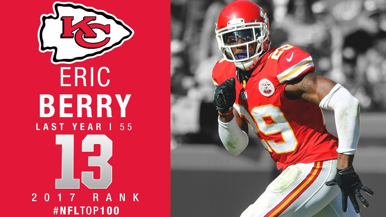 13 Eric Berry S Chiefs Top 100 Players of 2017