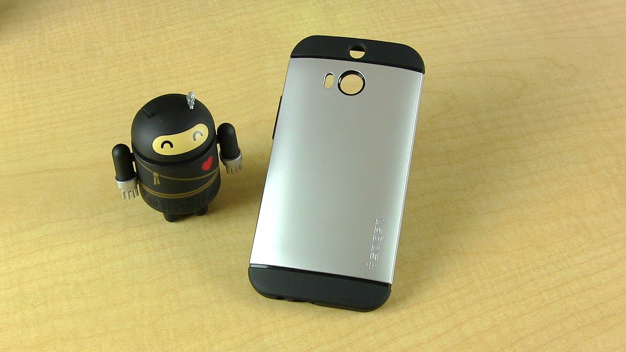 low priced e45ac 569a9 Spigen Slim Armor for HTC One M8 Review & Giveaway!
