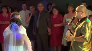 TAMADA  DIMITRY ....Vater Tochter Tanz u Gratulation bei russ. Hochzeit