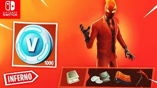 INFERNO PAKET + V-Bucks Challenges are here | Fortnite Nintendo Switch
