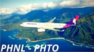 [FSX] Timelapse | Honolulu to Hilo | PMDG 737 Hawaiian