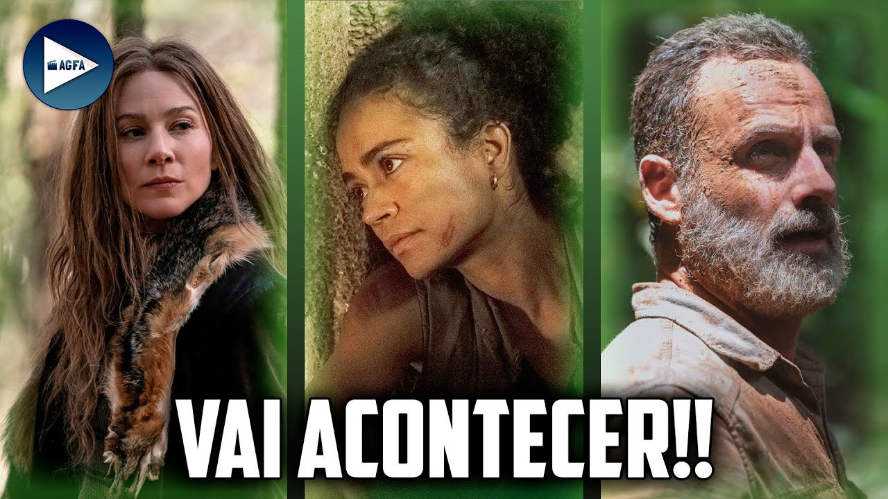 O GRANDE REENCONTRO DA ÚLTIMA TEMPORADA DE THE WALKING DEAD!