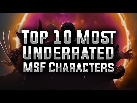 Top 10: Most Underrated Characters In MARVEL Strike Force - MSF