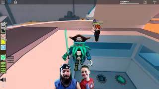 We had a GIANT CLONE!! Father and son playing Roblox - Clone Tycoon 2 :D (Part 4)
