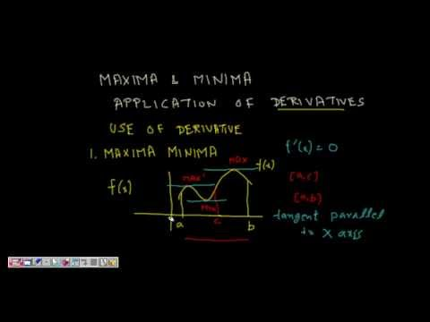 maxima and minima of functions Local maxima and minima are highest and lowest range of a function attained in between small intervals of domain their importance is more reflected in studying the graphs of the high degree polynomial and trigonometric functions which continuously change the direction of their path or curve.