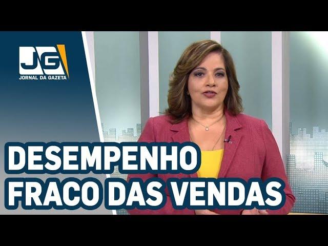 Denise Campos de Toledo / Apesar de crescimento, desempenho das vendas ainda é considerado fraco