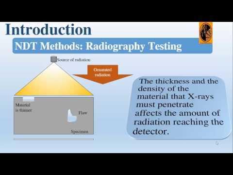 Comparison between Non Destructive Testing techniques: Non Destructive Testing techniques Principals