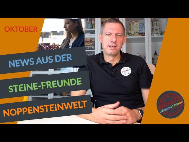 Die Steine-Freunde Noppensteinwelt News mit Kitt, Bloxbox Mosaiken und Wettbewerb Auflösung usw.