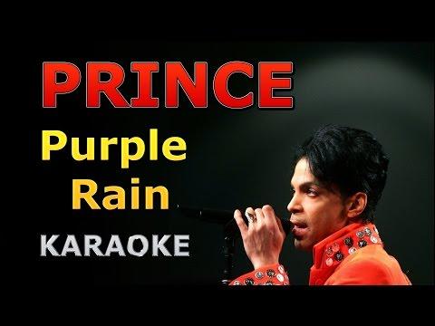 Prince - Purple Rain Karaoke with Lyrics