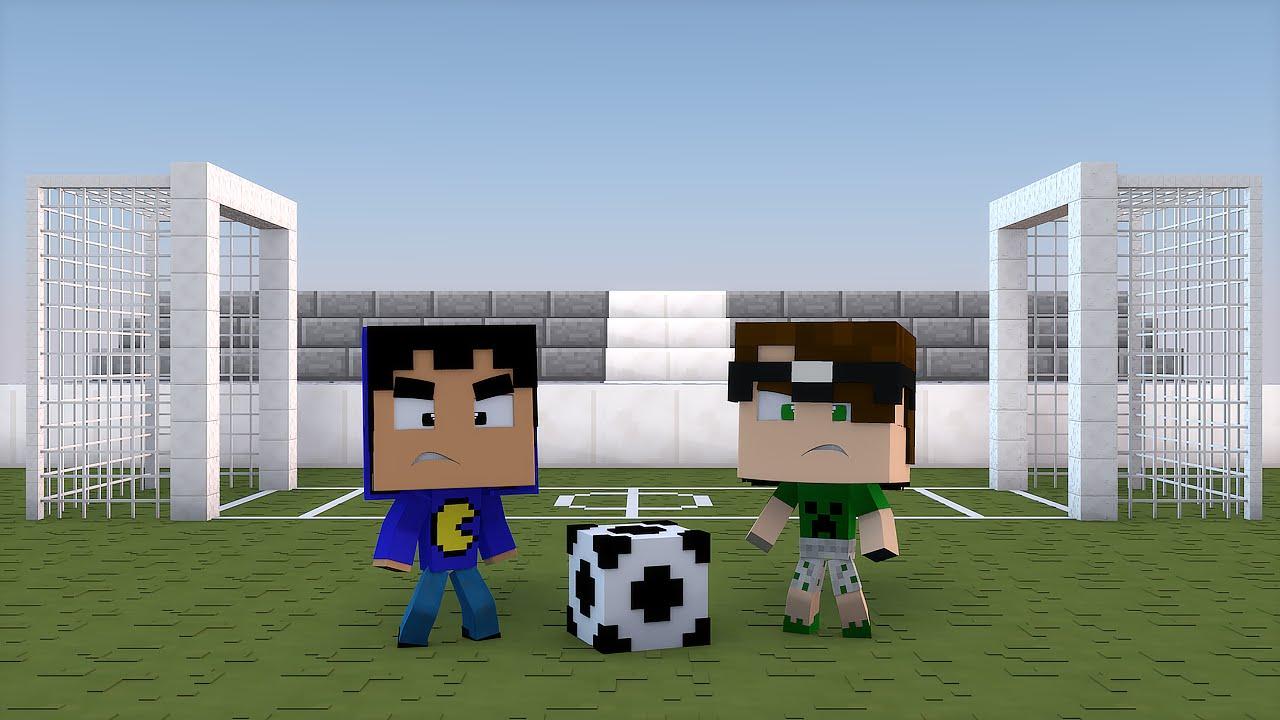 Minecraft: MELHOR MAPA DO MINECRAFT! (Head Soccer)
