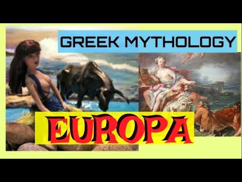 STORY OF EUROPA | GREEK MYTHOLOGY