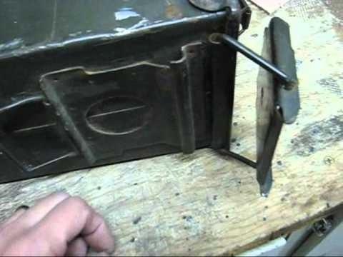 DIY Wood Stove From A Surplus Ammo Can