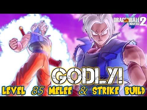 SonTj, Level 85 Potential Unleashed GODLY Saiyan Melee & Strike Build! Dragon Ball Xenoverse 2 |