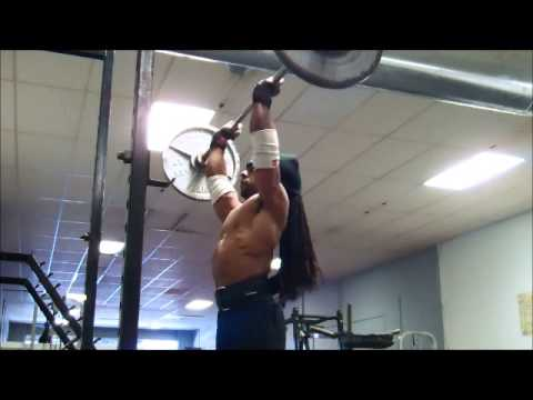Joe Morrow Shoulders & Traps Training