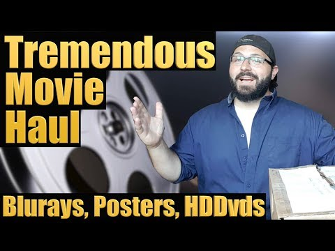 Tremendous Movie Haul (Blurays, Posters, HDDvds) | BLURAY DAN