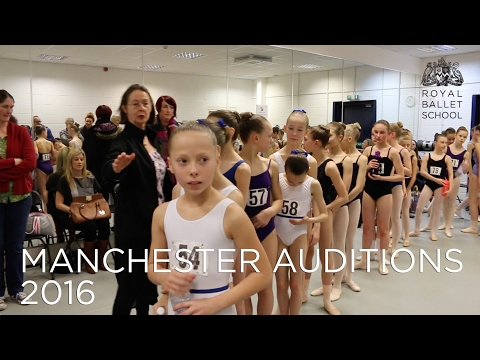 The Royal Ballet School Auditions in Manchester