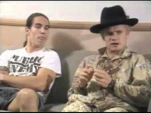 Anthony Kiedis and Flea about John Frusciante leaving the band (Interview 1992)