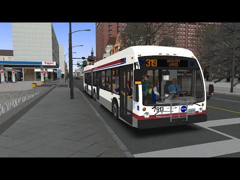 Cayuga USA Route 319 with NOVA Bus LFSA OMSI 2