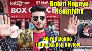 Thugs Of Hindostan Asli Review 😡😡😡 SLAMS Negative Reviews | 4th Day Review Sunday