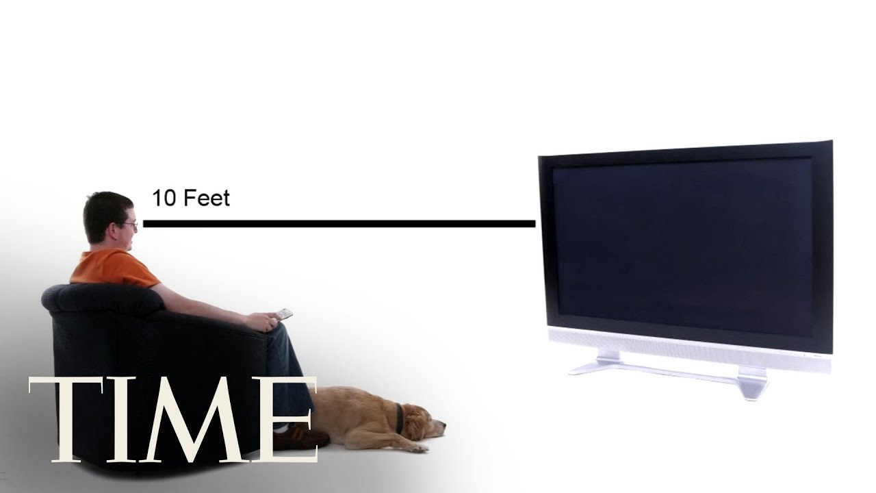 30-Second Tech Trick: How To Choose The Right Size TV   TIME - YouTube