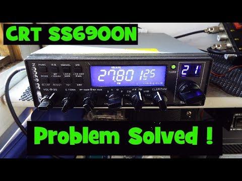 CRT Superstar 6600.  Audio problem solved :-)