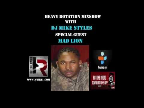 MAD LION INTERVIEW WITH DJ MIKE STYLES ON WHLR HOTLINE RADIO