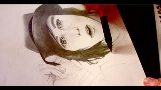 Kellin Quinn Speed Drawing