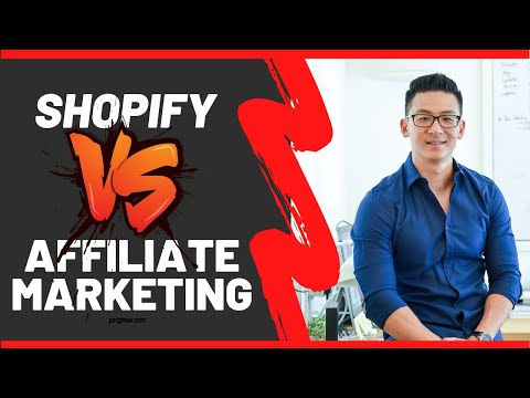 Shopify VS Affiliate Marketing - Which Is Better? thumbnail