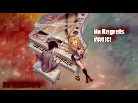 Nightcore - No Regrets