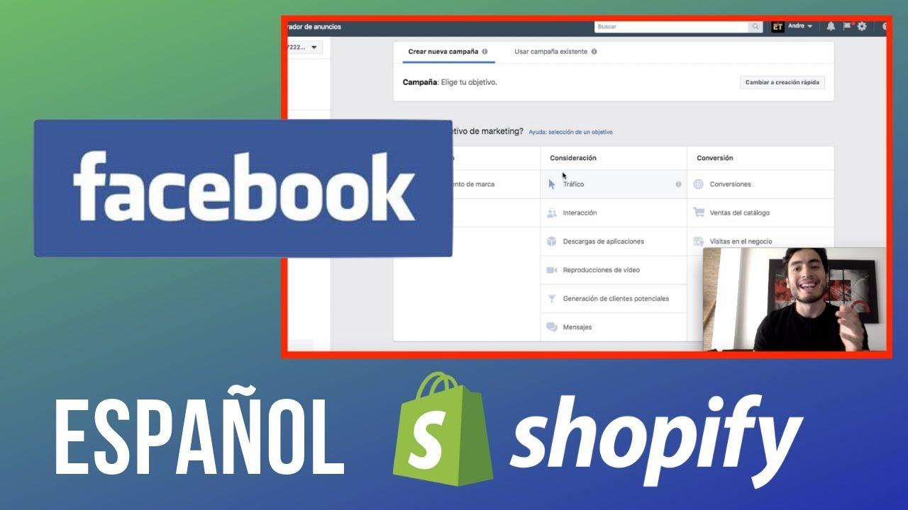 Shopify Dropshipping en Español | FACEBOOK ADS (Paso a Paso)
