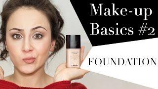 Foundation | Make-up für Anfänger | Was ist eine Foundation | Make-up Basics #2