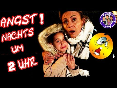 NACHTS UM 2 UHR IM KINO   PANISCHE ANGST Vlog #144 Our life FAMILY FUN