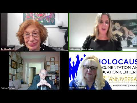 Shabbat Wisdom: Yom HaShoah interview with Dr. Wilma Siegel, Norman Frajman & Rositta Kenigsberg