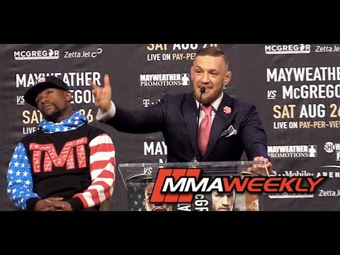 Nevada Commission Decides on 8- or 10-Ounce Gloves for Floyd Mayweather vs Conor McGregor