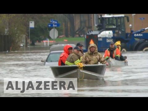 Floods lead to state of emergency and evacuations in Canada